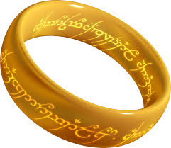 One Ring to rule them all, One Ring to find them,      One Ring to bring them all and in the darkness bind them