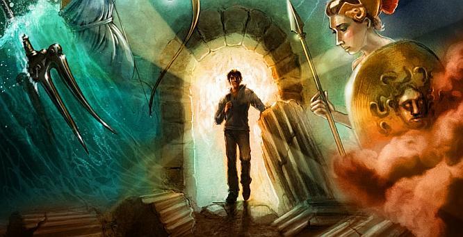 Holding the Lantern to Percy Jackson's GreekGods